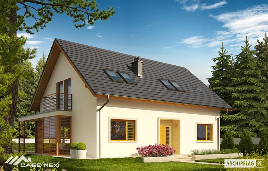 Proiecte case bihor oradea alba arad arges bacau bihor bistrita nasaud botosani brasov braila - Small modern houses with loft the practical choice ...
