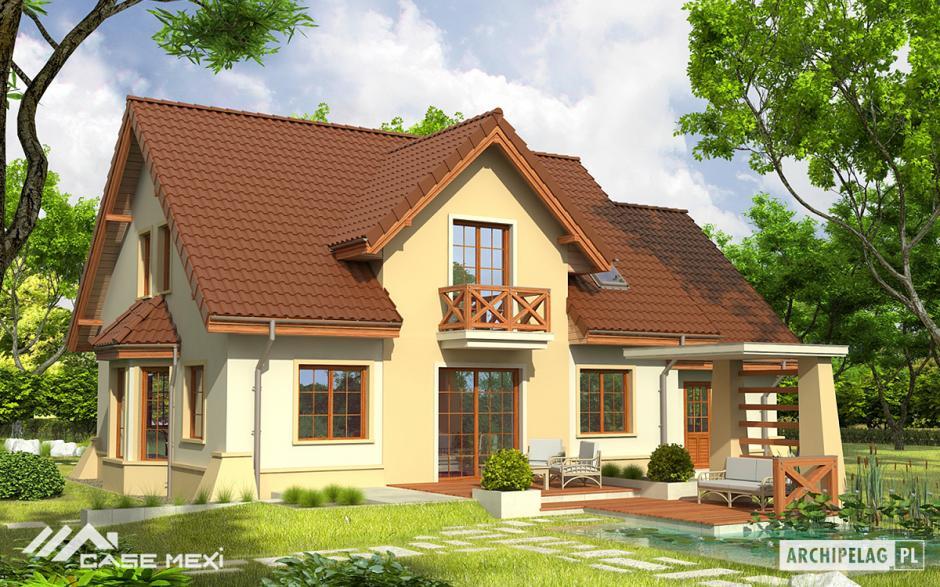 Case cu mansard casa cu mansarda andrzej g1 - Arredare casa con 10000 euro ...