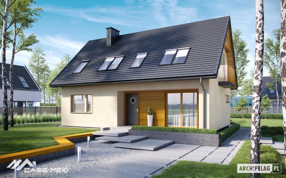 Casa Cu Mansarda E11 III Economic