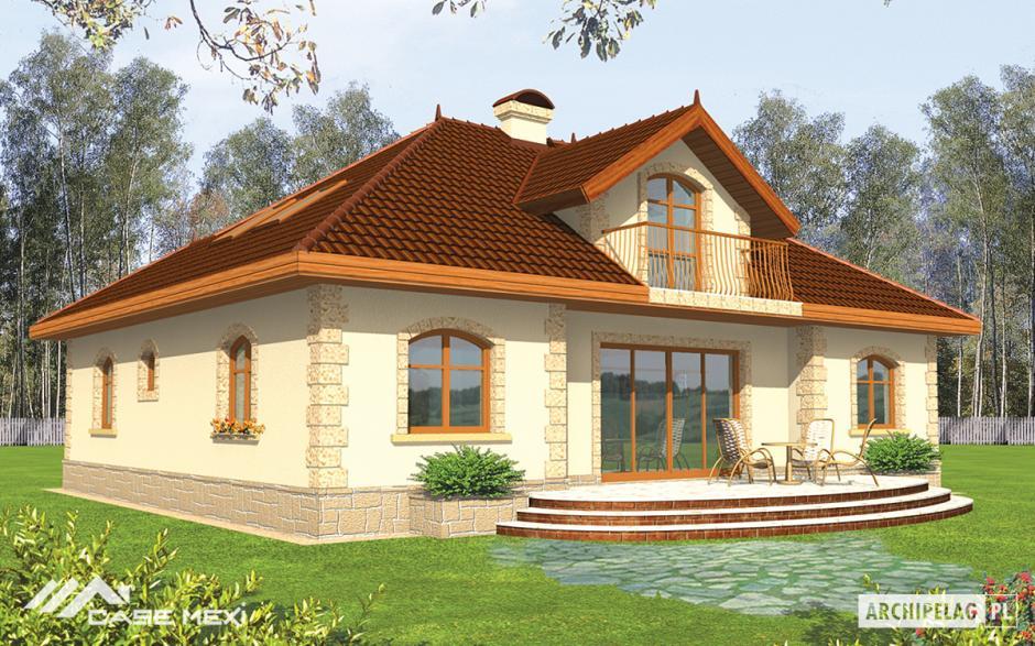 Case cu mansard casa cu mansarda maura g1 for Case de vis mici