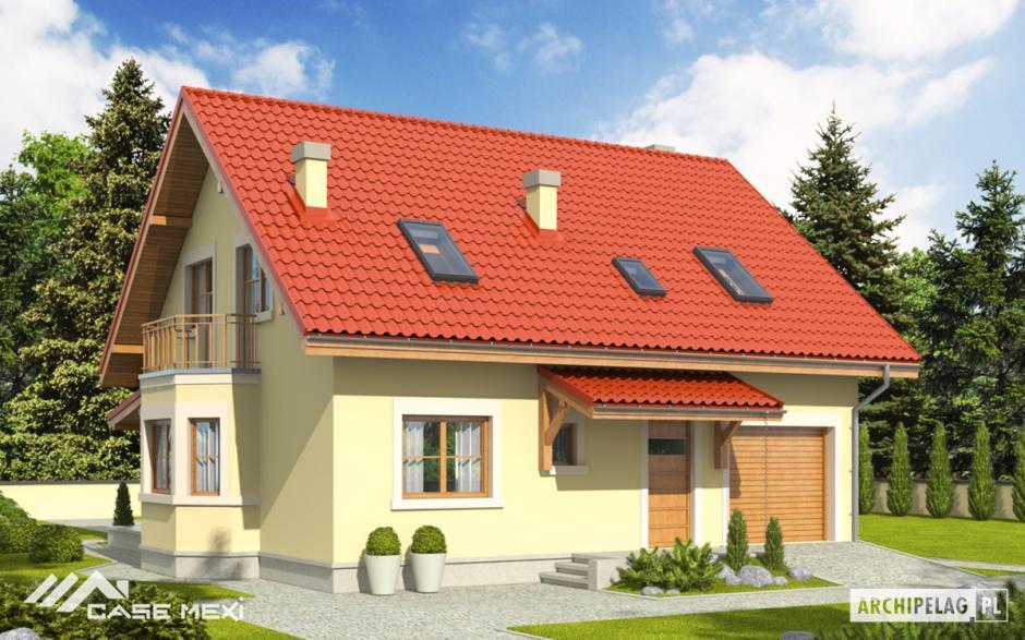 CASE cu MANSARDĂ - Casa cu mansarda Aga II G1