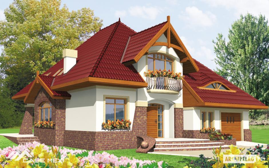 Casa cu mansarda adela g1 for Case cu mansarda mici