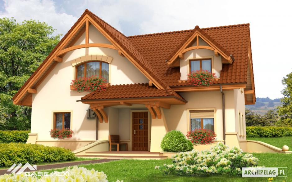 Case cu mansard casa cu mansarda helka for Modele de case mici