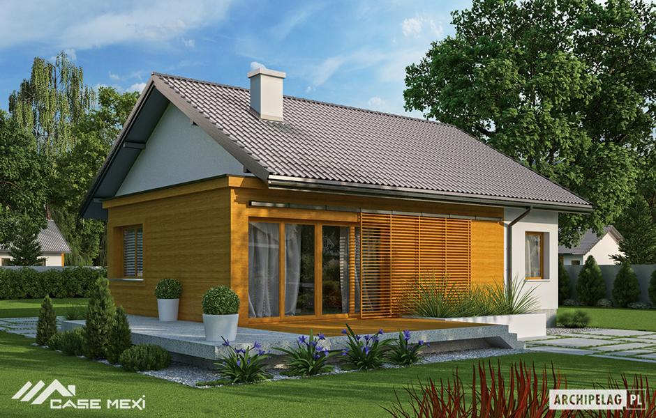 Proiecte case mici case de vanzare structura metalica for Case cu mansarda mici