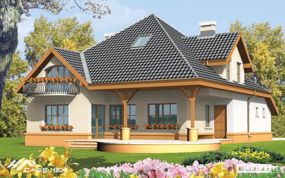 Proiecte de case moderne for Proiecte case cu garaj
