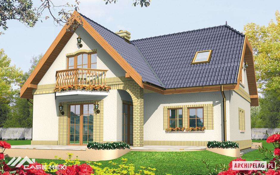 Casa cu mansarda mirabelka g1 for Case de vis cu etaj