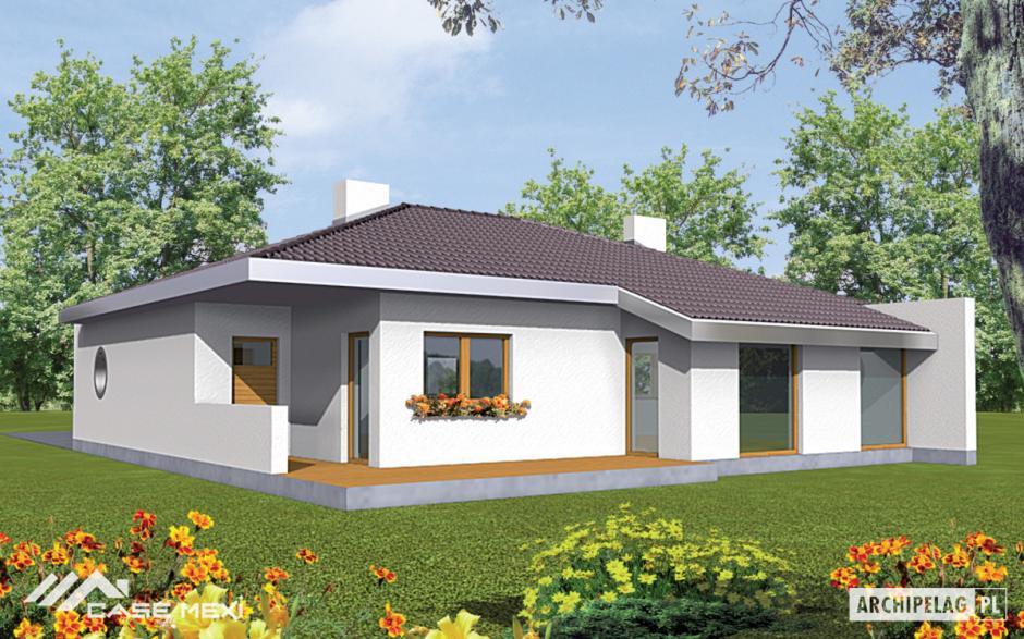 Proiecte de case moderne for Modele de case fara etaj cu terasa