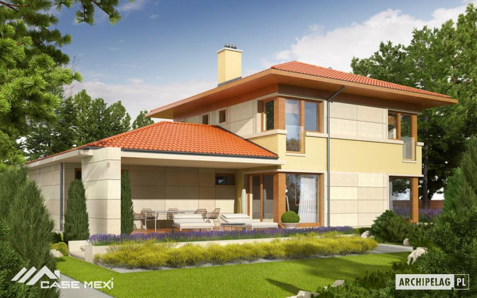 Casa cu etaj rodrigo g2 for Modele de case fara etaj cu terasa