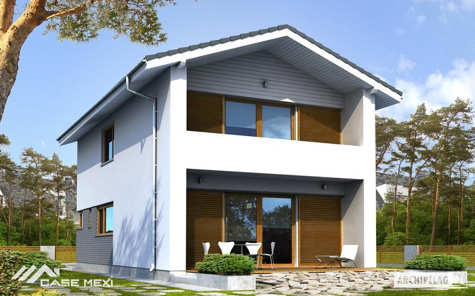 Case cu etaj casa cu etaj mika for Modele de case fara etaj cu terasa
