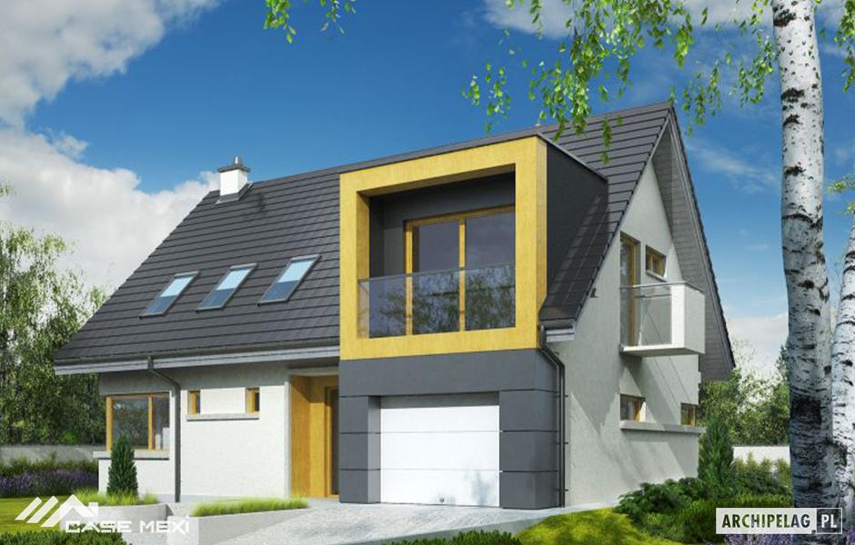 Case mici cu mansarda case de vanzare structura metalica for Imagini case moderne